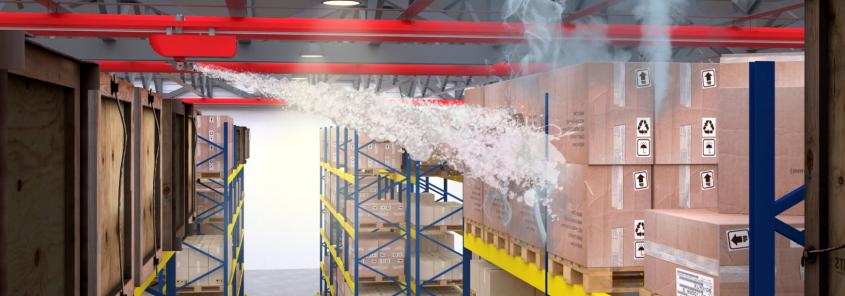 Мобильные роботы: инновационный комплекс пожаротушения