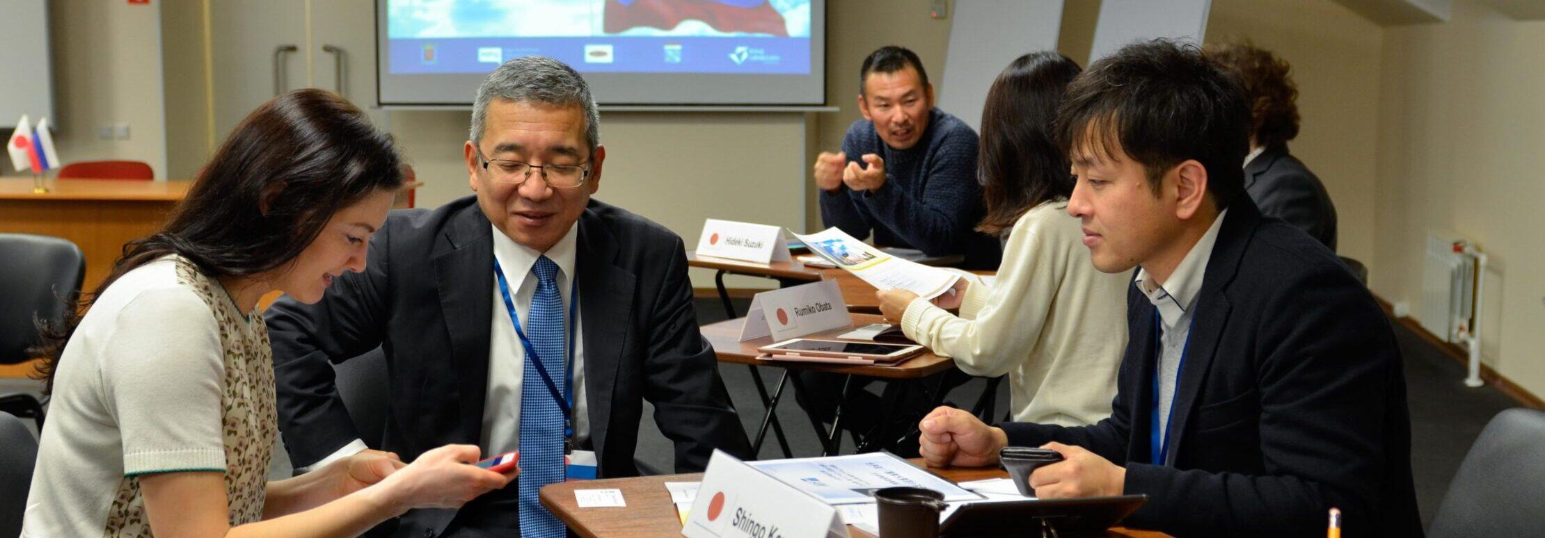 Биржа контактов с представителями японских компаний